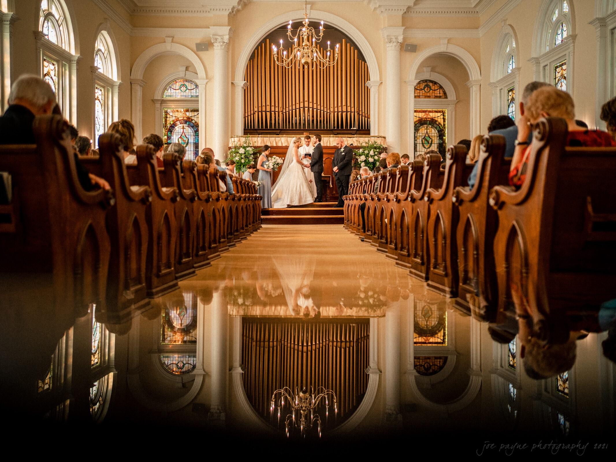 Howard Memorial Presbyterian Church Blount Bridgers House Tarboro NC Wedding Julianne John 17