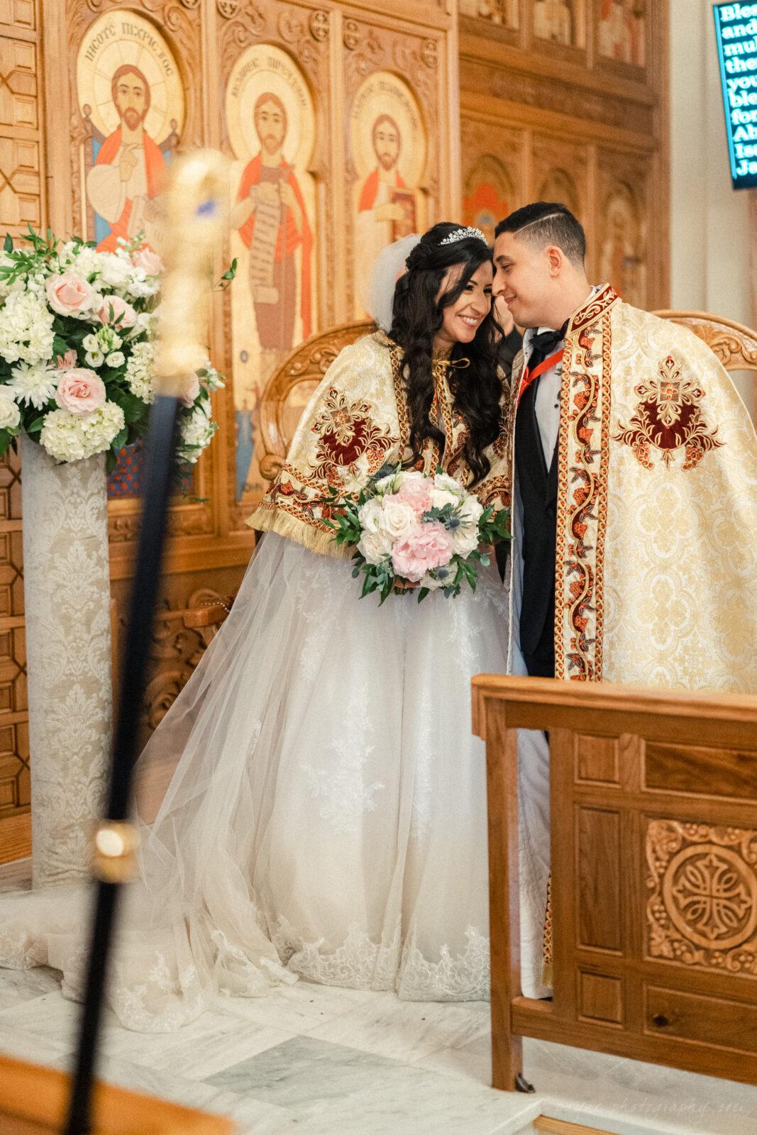 Raleigh Egyptian Coptic Wedding Pina AJ 1 2