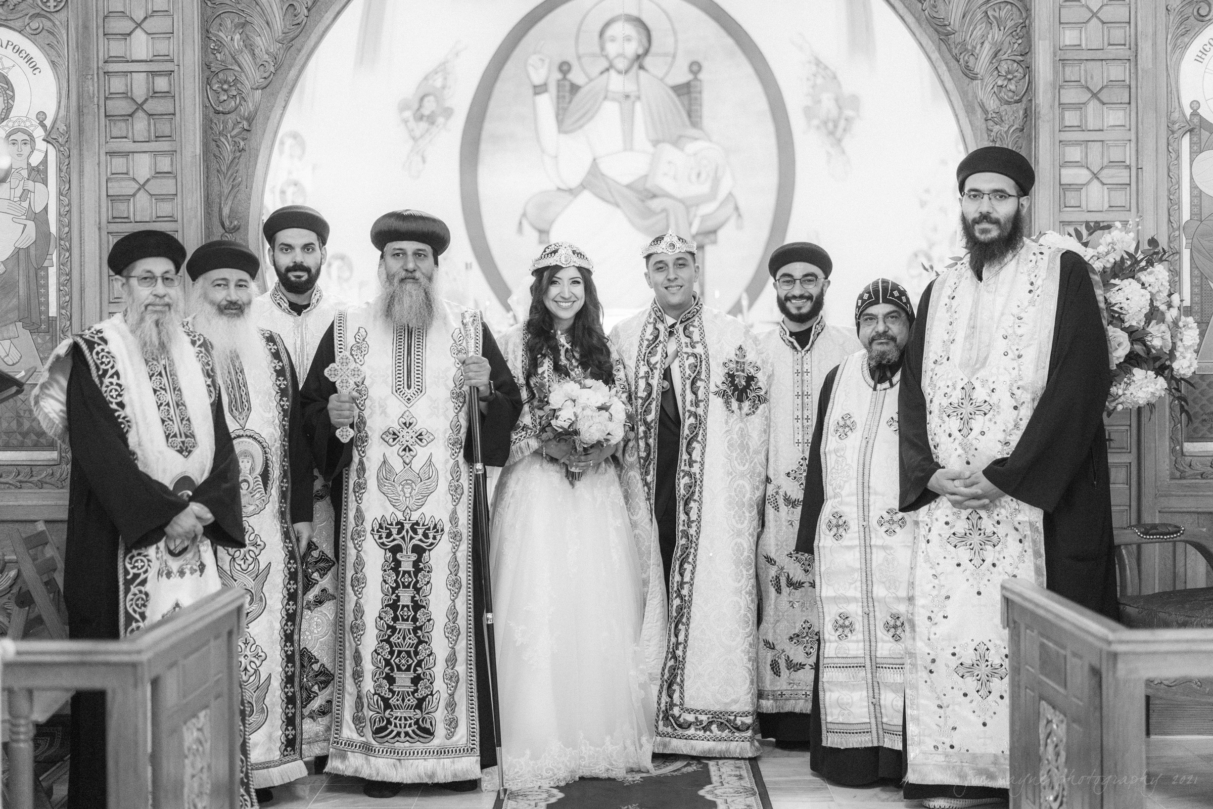 Raleigh Egyptian Coptic Wedding Pina AJ 19